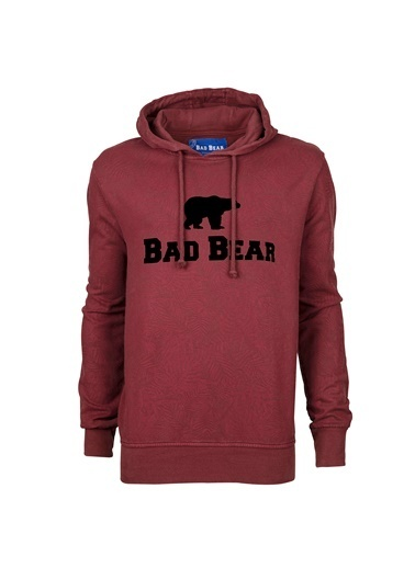 Bad Bear Sweatshirt Bordo